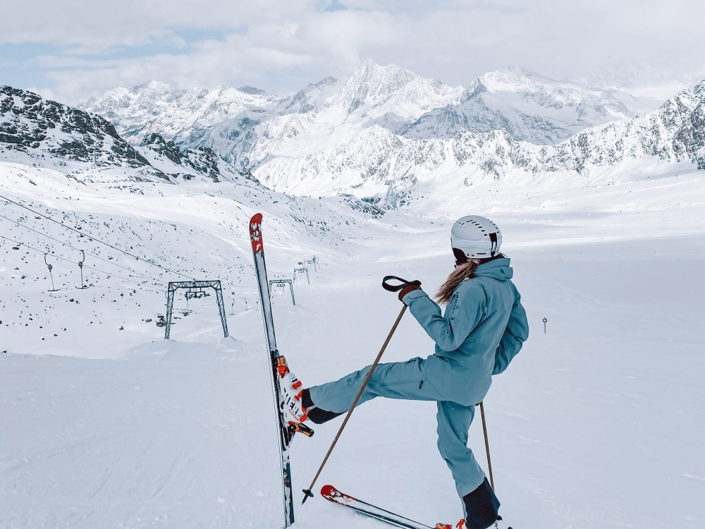 How to ski |3 reasons for why to ski in autumn, even during COVID-19