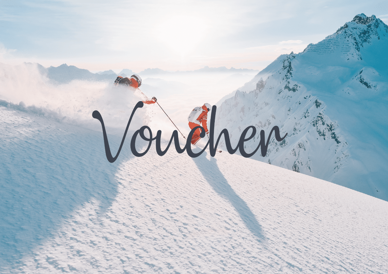 gift card for your next skiing day