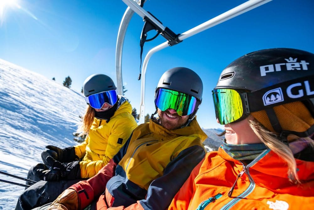 How to ski   5 technical information about ski goggles