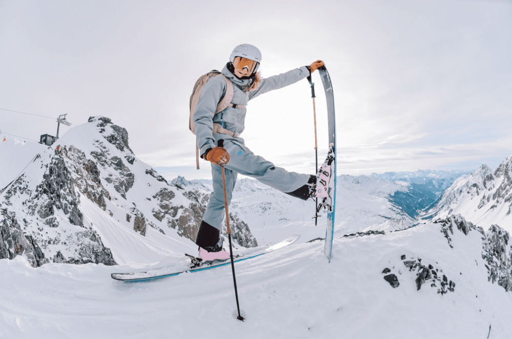 different types of ski boots